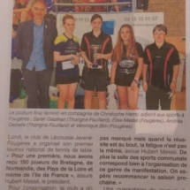 Article tournoi 2