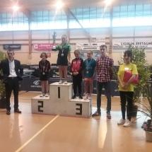 podium poussines