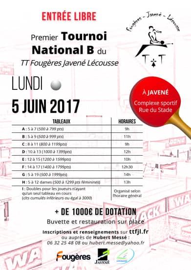 Présentation du Tournoi National 2017
