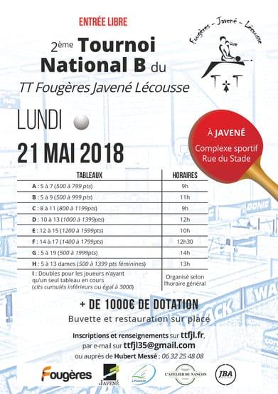 Présentation du Tournoi National 2018