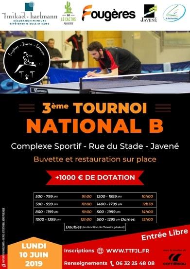 Présentation du Tournoi National 2019